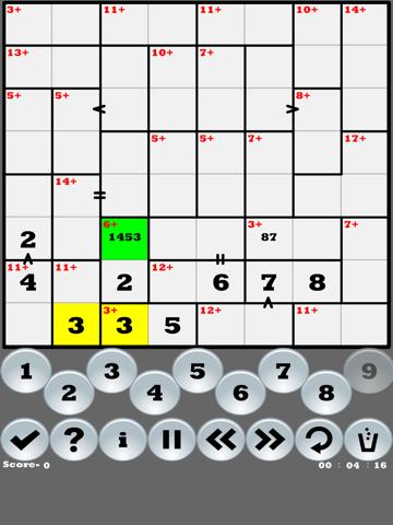 Greater than Killer-Sudoku | App Price Drops
