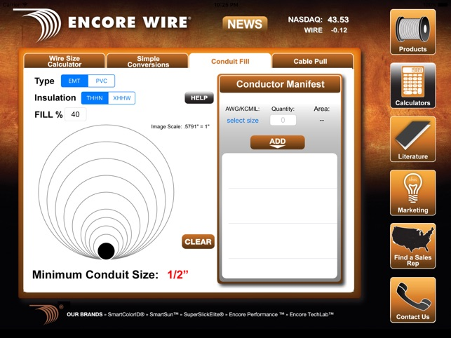Encore Wire for iPad on the App Store