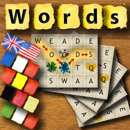 Rotating Letters And Words Board Game International