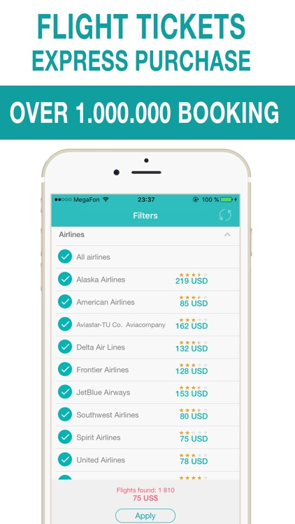 All airlines - cheap airline tickets & airfare deals