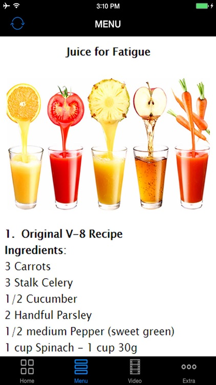 How To Make Multi-Functional Juices  - Best Purposed Juice Recipes For Your Healthy Demands screenshot-4