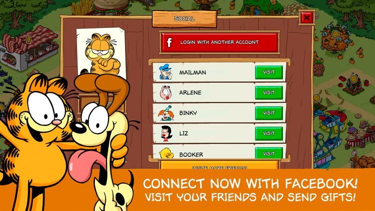 Garfield: Survival of the Fattest screenshot-3