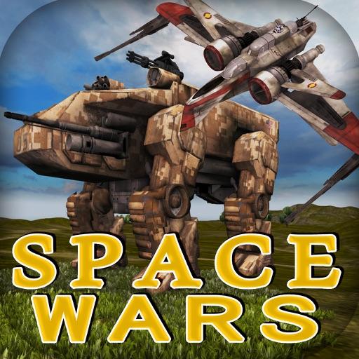 Battle of Earth. Space Wars - Galaxy Starfighter Combat Flight Simulator