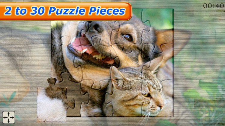 Cute Pets - Real Dogs and Cats Picture Puzzle Games for kids screenshot-3