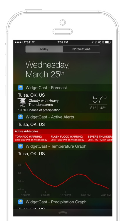 WidgetCast screenshot-0