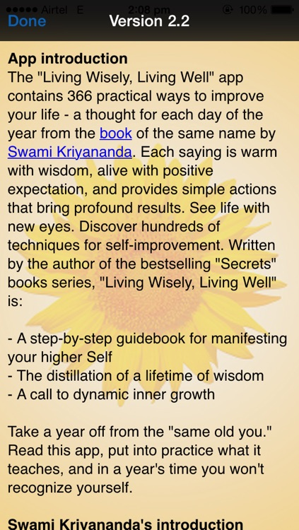 Living wisely, Living Well screenshot-3