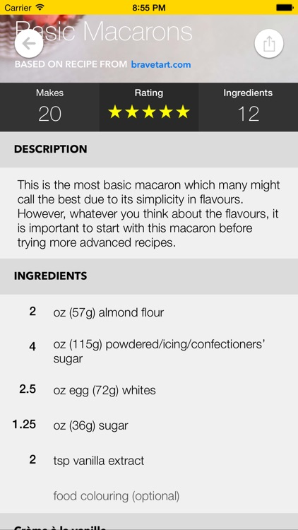 Macaron Recipe Guide screenshot-2