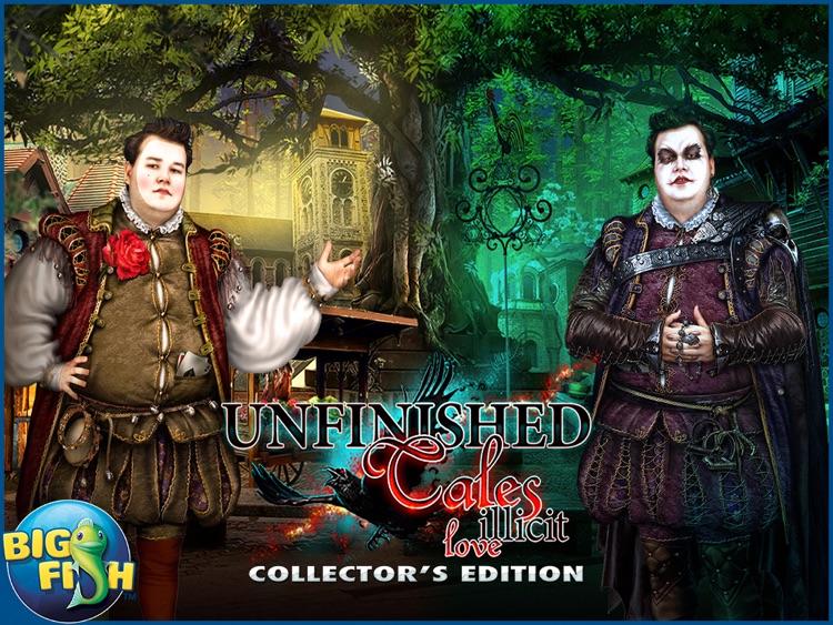 Unfinished Tales: Illicit Love HD - A Hidden Objects Fairy Tale screenshot-4