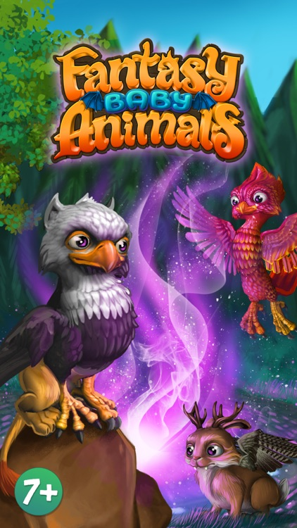 Fantasy Baby Animals FREE screenshot-0
