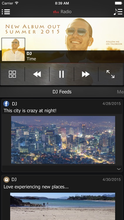 onTune FM - Stream Free Music, Live Radio, & Videos screenshot-2