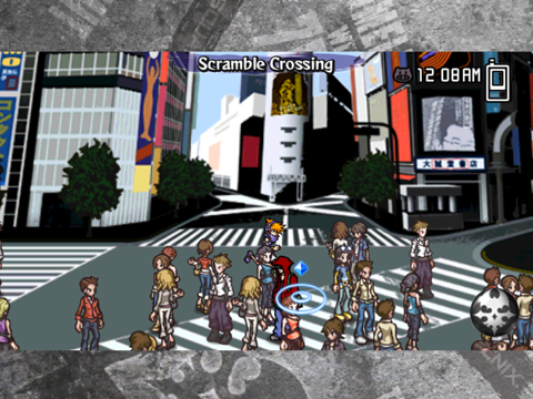 Игра The World Ends with You: Solo Remix for iPad