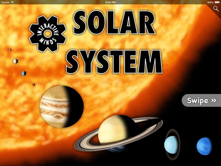 Interactive Minds: Solar System screenshot-0