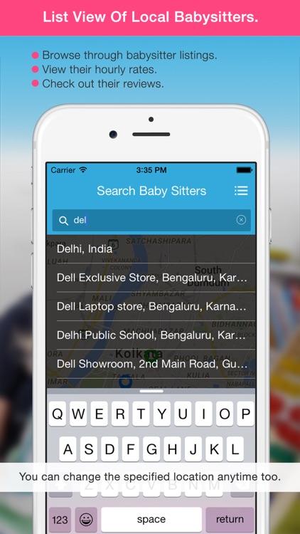 Baby Sitter - Find a nanny near you! screenshot-4