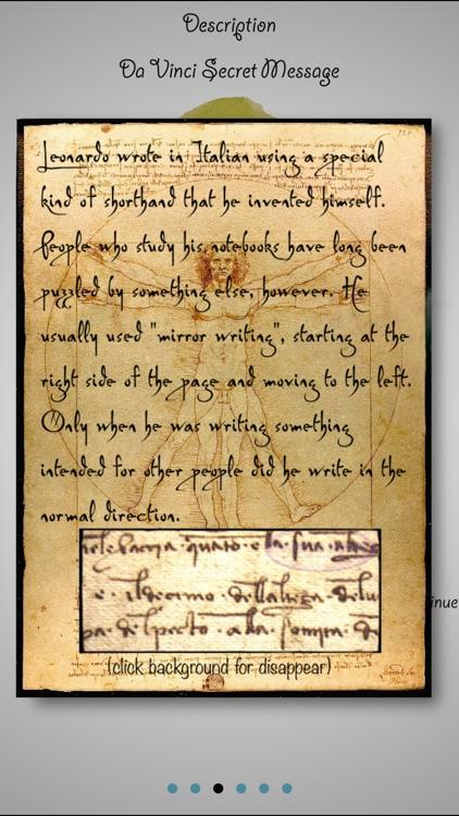 Da Vinci's Secret Message Pro