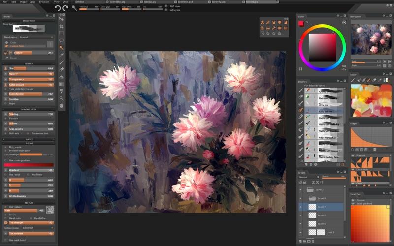 Paintstorm Studio Screenshots