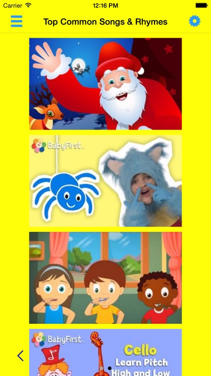 ABC 123 Nursery Rhymes and Songs screenshot-0