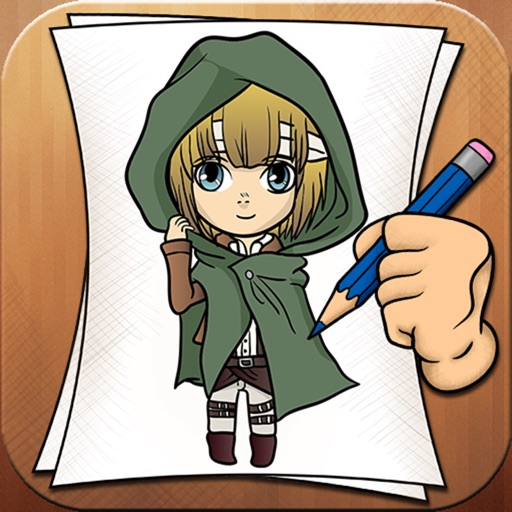 Learning To Draw for Attack on Titan