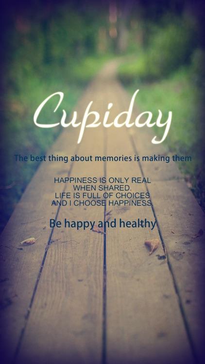 Cupiday  ----   Sex life management App