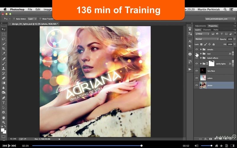 Course For PhotoShop CC Designing Album Covers