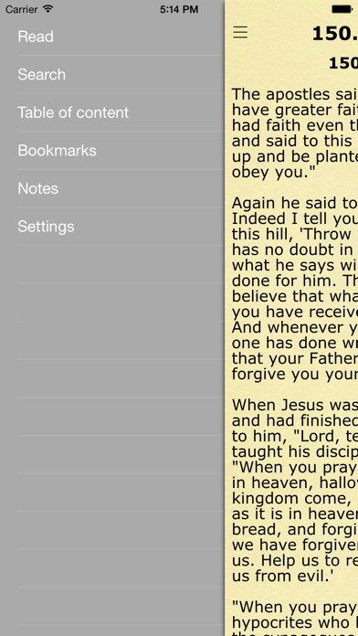 Children's Bible (Bible Stories for Kids) screenshot two