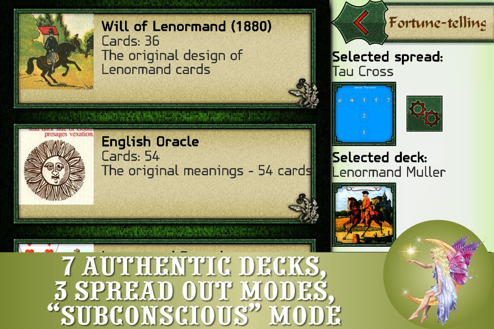 Lenormand readings - FREE cards fortunetelling and
