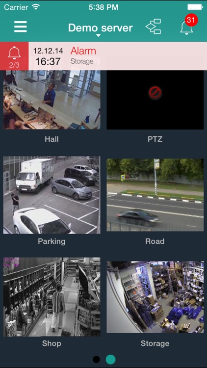 eLine eyStream VMS by Techpro Security Products,LLC