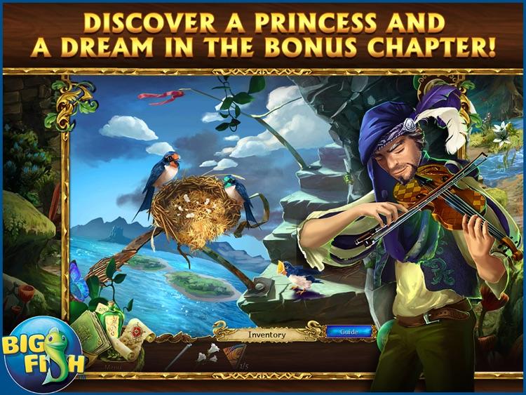Grim Legends 2: Song of the Dark Swan HD - A Magical Hidden Object Game screenshot-3
