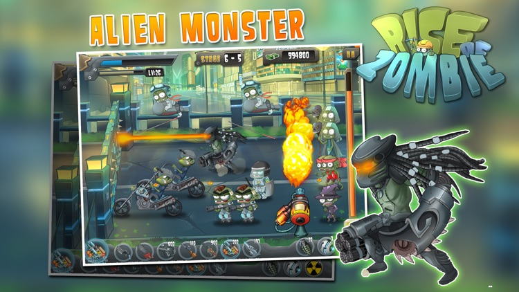 Rise of Zombie - City Defense
