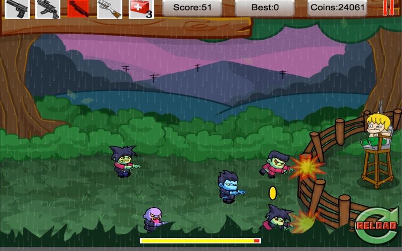 Tiny Zomby The Barricade screenshot 5