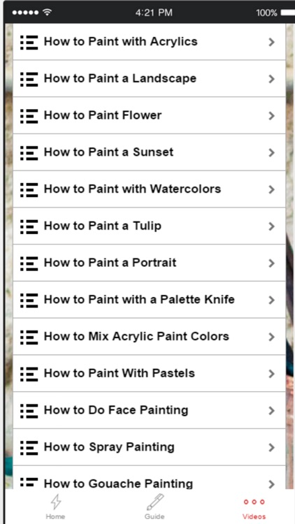Learn How to Paint With Tips and Tutorials screenshot-3