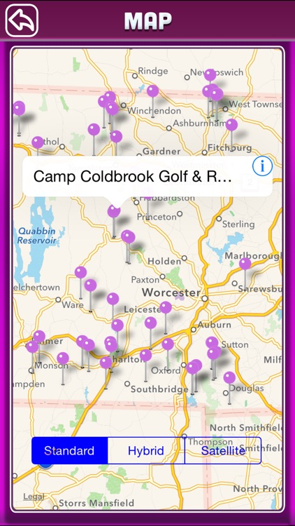 Massachusetts Campgrounds Offline Guide screenshot-4