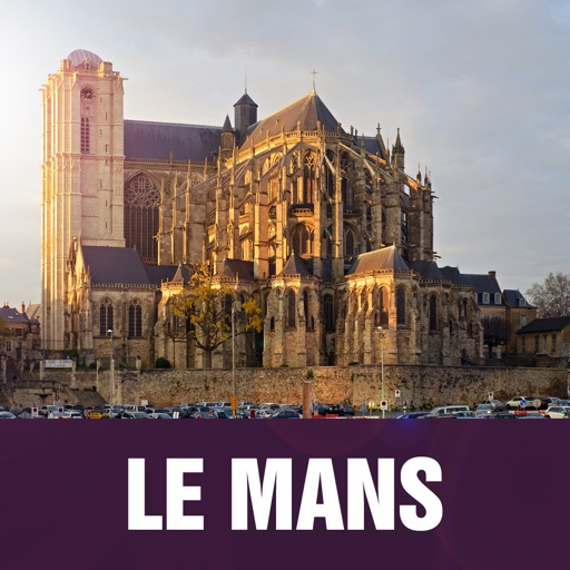 Le Mans Offline Travel Guide icon