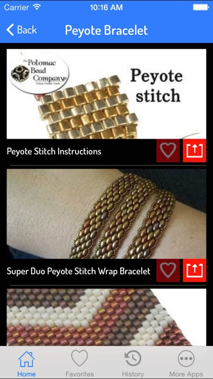 Peyote Stitch Guide