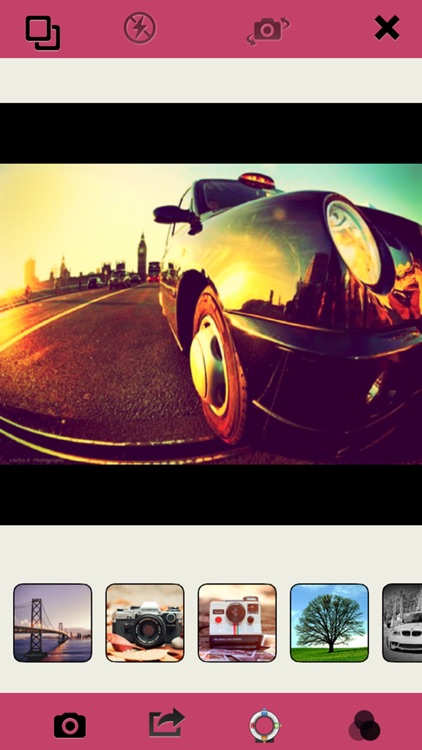 Fisheye Camera - Photo Editor, big lens For Mixing Filters, Textures and Light Colors