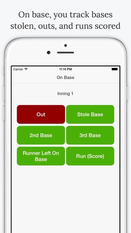 Batting Average - Baseball Stats screenshot-3