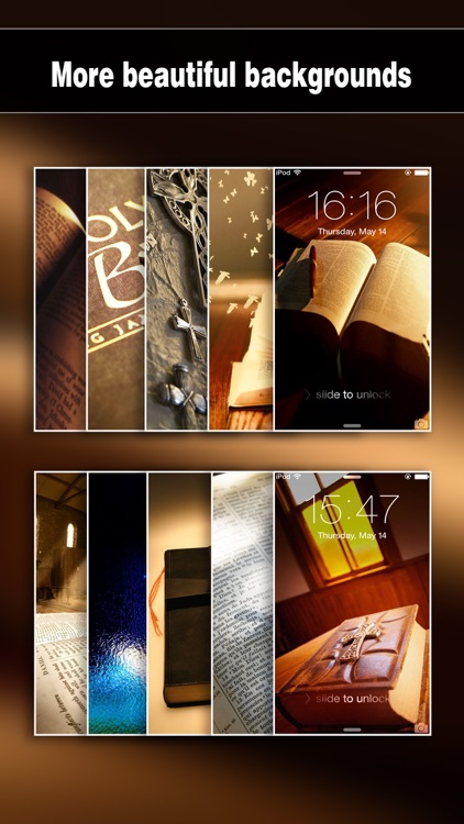 Bible Wallpapers Pro - Backgrounds & Lock Screen Maker with Holy Retina Themes for iOS 8 & iPhone 6 screenshot-2