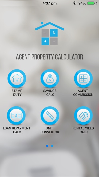 Agent Property Calculator