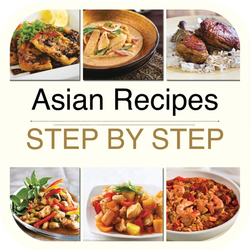Asian Recipes - Step by Step Cookbook for iPad