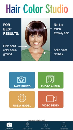 Hair Color Studio - Try On a New Hair Colour on the App Store