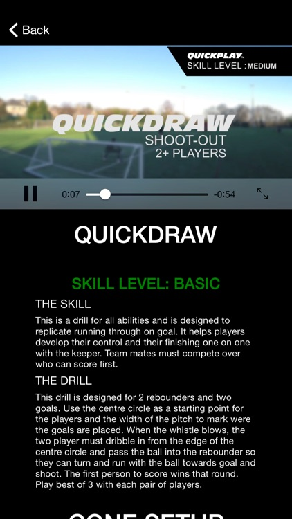 QuickPlay eCoach