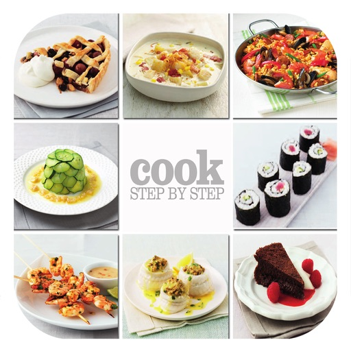 Cooking Recipes Step by Step Cookbook - iPad Version
