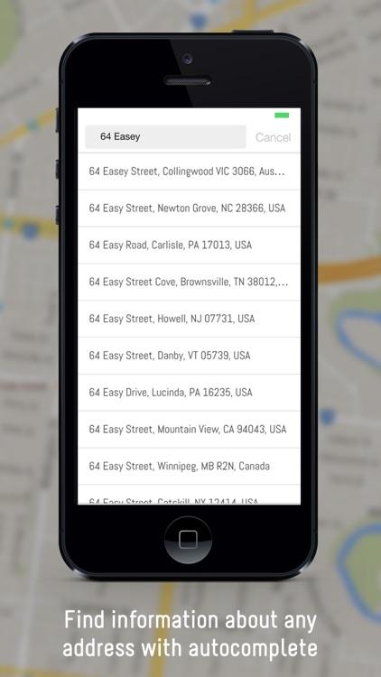Locatio - Find the Latitude & Longitude of any location