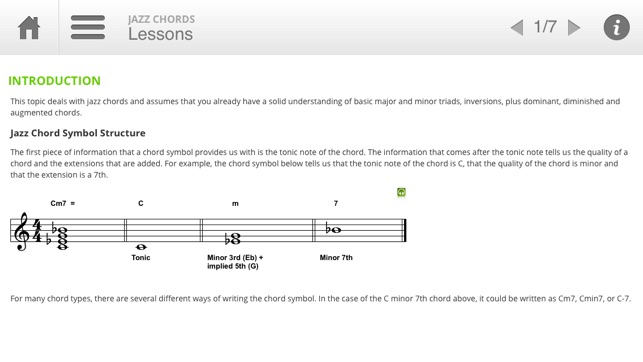 Auralia Jazz Chords on the App Store