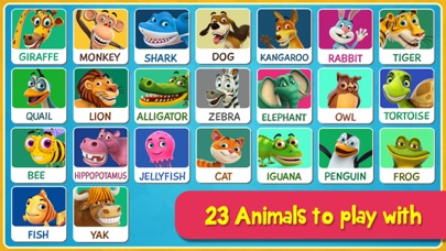 Gigglymals - Funny Animal Interactions for iPhone-1