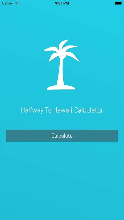 Halfway To Hawaii Calculator