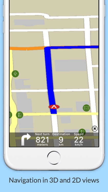Belize GPS Map Navigator screenshot-3