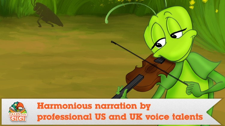 The Ant And The Grasshopper - Narrated classic fairy tales and stories for children screenshot-3