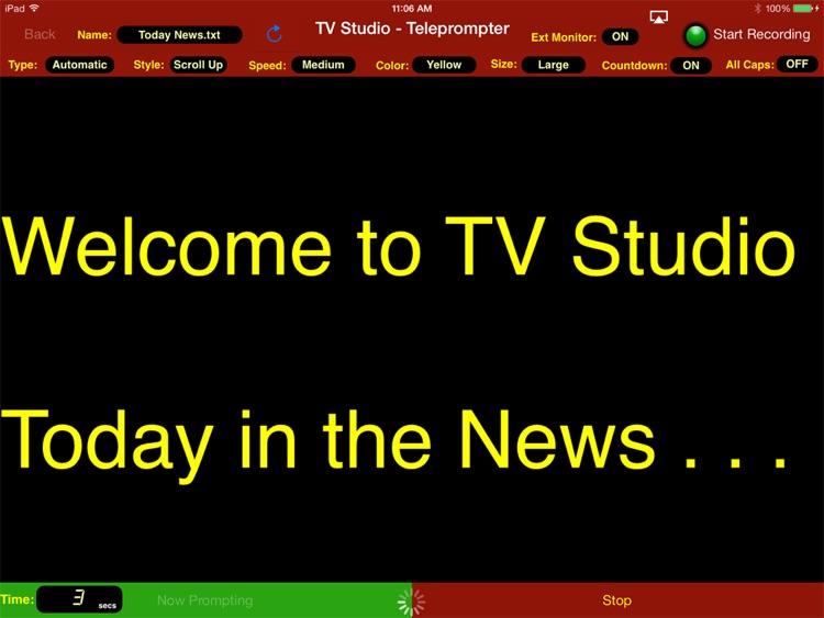 TV Studio screenshot-3