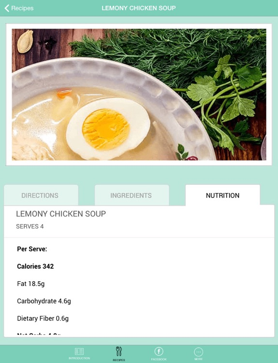 Keto Living Cookbook HD for iPad screenshot-4