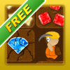 Treasure Miner Free - a 2d gem mining adventure - York Burkhardt